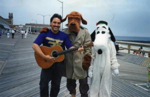 David Cohen Classical & Flamenco Guitar, McGruff the Crime Dog, Snoopy-Asbury Park Boardwalk circa 1