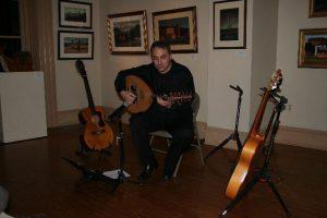 David Cohen Classical & Flamenco Guitar- Trenton City Museum Trenton, New Jersey 2012