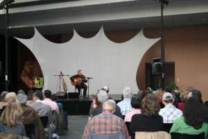David Cohen Classical & Flamenco Guitar Kimmel Center Commonwealth Plaza stage 2008