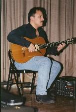 David Cohen Flamenco Guitar-Spanish Theater Production El Nino de Cristal 2005