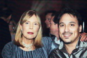 Joni Mitchell, David Cohen   NYC 2001