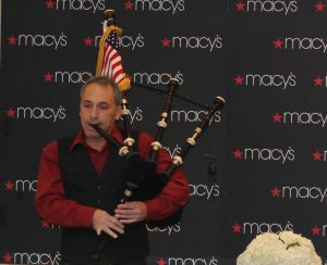 David Cohen Bagpipes- Macy's/Waterford Crystal Event, Bridgewater, NJ