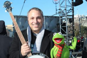 Lighting of the National Christmas Tree, Washington DC 2011 w/Kermit the Frog