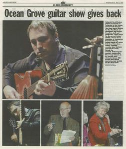 David Cohen Classical & Flamenco Guitar Asbury Park Press