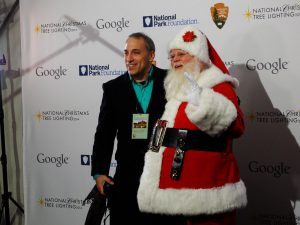 David Cohen Guitar, Santa Claus - Washington DC, Lighting of the National Christmas Tree