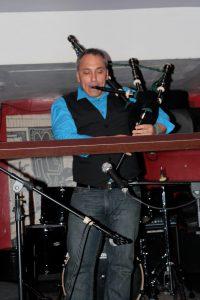 David Cohen Classical & Flamenco Guitar & Bagpipes - Alphabet Lounge, New York 2013