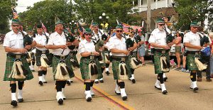 Pipes & Drums of the Jersey Shore Shillelagh's- Ocean Grove, New Jersey 2008