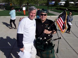 David Murphy 6ABC Action News Philadelphia, David Cohen Bagpipes- Sandy Rollman Walk for the Cure