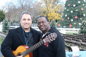 David Cohen, Randy Jackson Washington DC 2007 Lighting of the National Christmas Tree