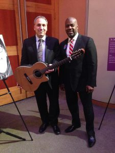 Mayor Ras Baraka, David Cohen Guitar - NJPAC Newark, NJ 2016