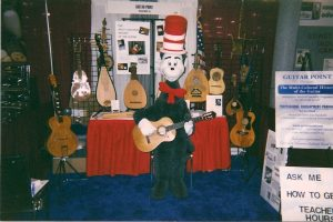 The Cat in the Hat w/my Conde Hermanos Flamenco Guitar: Teachers Conference Atlantic City, New