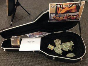 David Cohen Guitar Philadelphia International Airport concert stage 2015