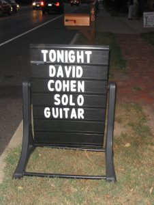 David Cohen Classical & Flamenco Guitar New Jersey 2003