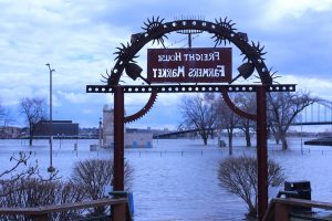 Freight House Farmers Market 2019 Mississippi River Flood