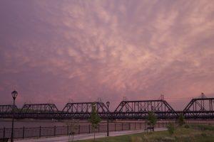 Arsenal Bridge Downtown Davenport
