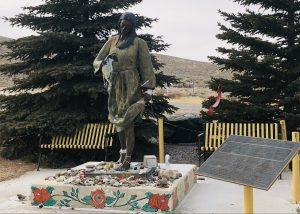 Sacajawea Gravesite and Memorial. Fort Washakie, WY